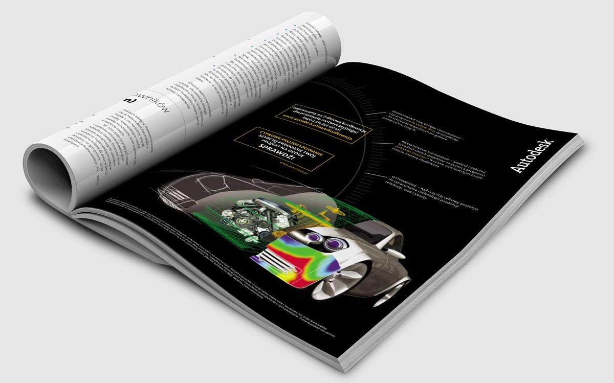 Reklama prasowa Autodesk