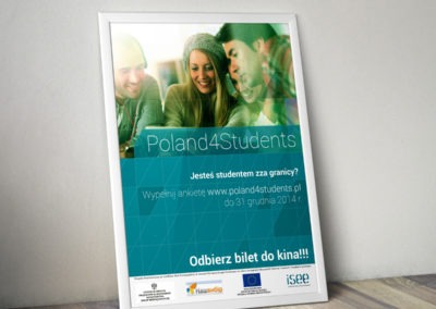 Plakat Poland4Students