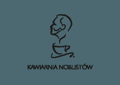 Projekt logo Kawiarnia Noblistów